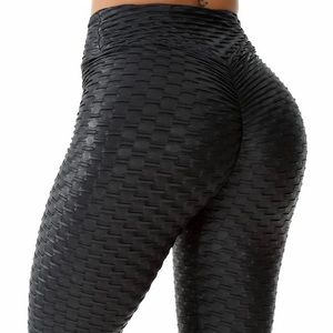 Pants - 🖤 Brazilian Honeycomb Gym Leggings Booty Scrunch